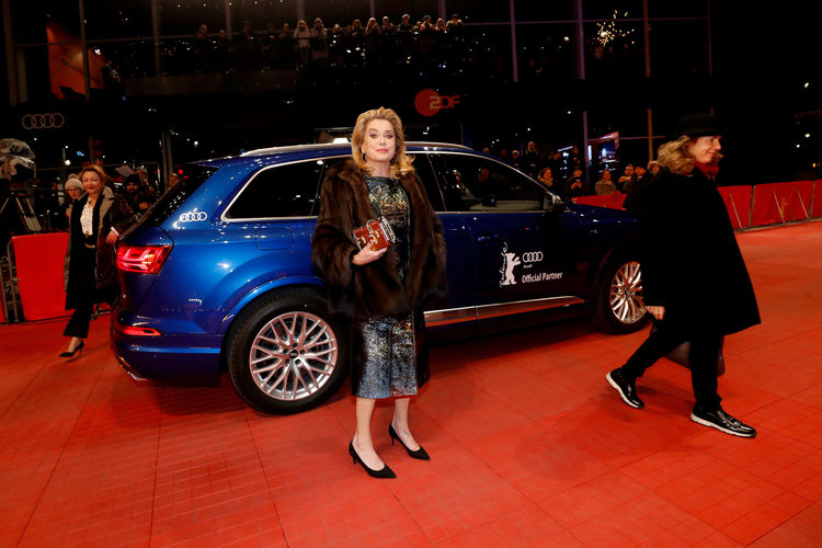 """Audi at the 67th Berlinale: Arrivals """"The Midwife"""" Premiere"""