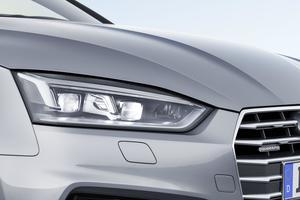 Matrix LED headlights Audi A5