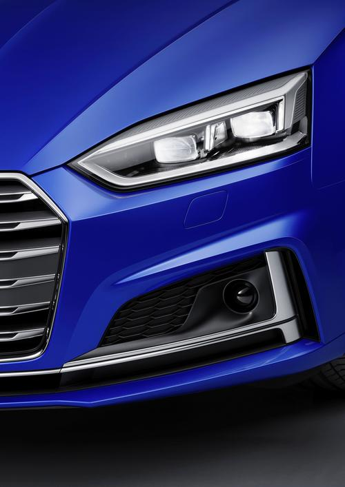 Matrix LED headlights Audi S5