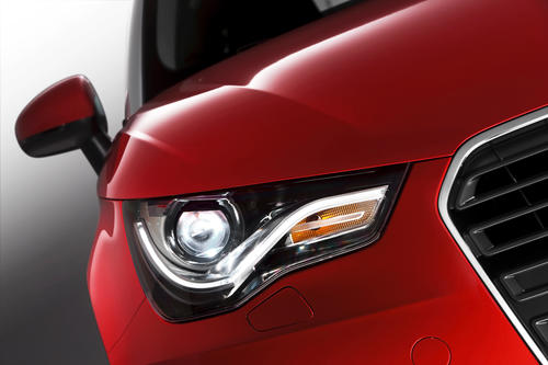 Xenon headlights Audi A1