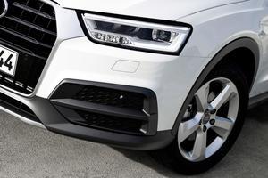 LED headlights Audi Q3