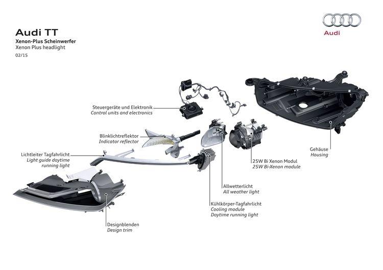 Xenon Plus headlight Audi TT