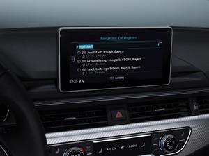 Free-text search / Audi MMI search