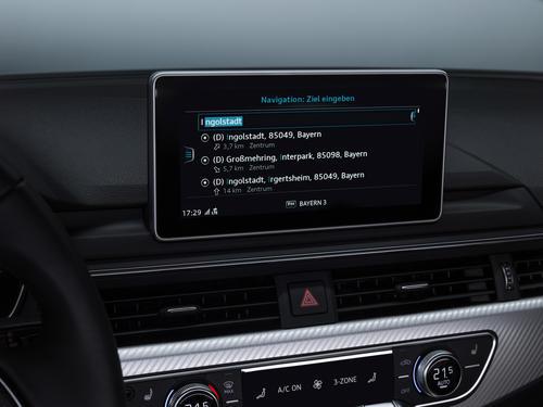 Freitextsuche/ Audi MMI-Suche
