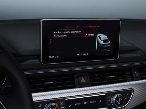 Audi pre sense