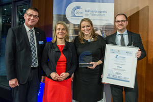 Audi receives Industrial Inclusion Prize