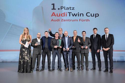 Audi Twin Cup: Audi Zentrum Fürth ist deutscher Servicemeister 2017