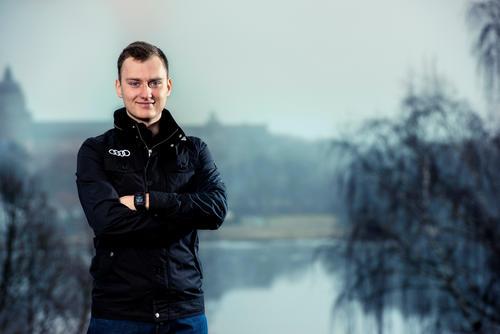 EKS driver Reinis Nitišs, Rallycross