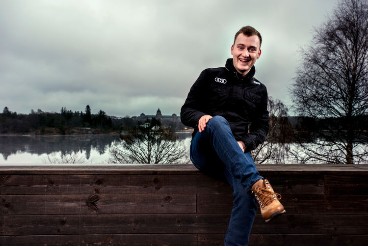 EKS-Fahrer Reinis Nitišs, Rallycross