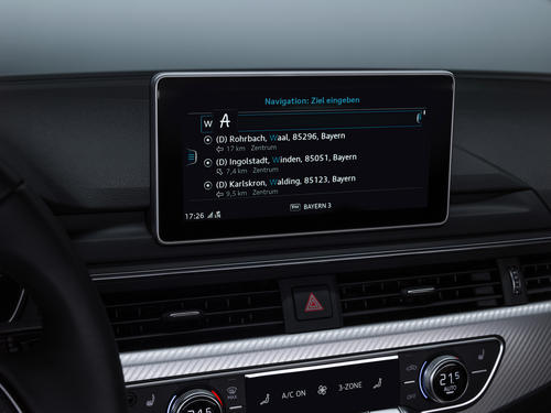 Freitextsuche / Audi MMI-Suche