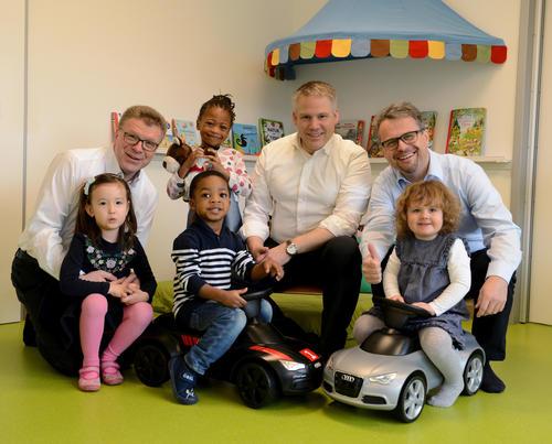 Audi und Stadt Ingolstadt: Mehr Betreuungsplätze für Kinder