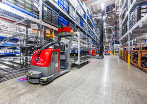 Logistikhalle und Vormontagezentrum (Halle B) im Güterverkehrszentrum (GVZ) Ingolstadt