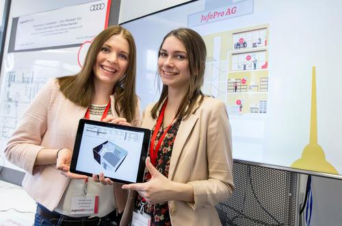Nachwuchswissenschaftler begeistern bei Audi