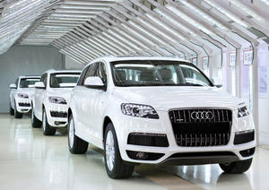 Production start of Audi Q7 in India