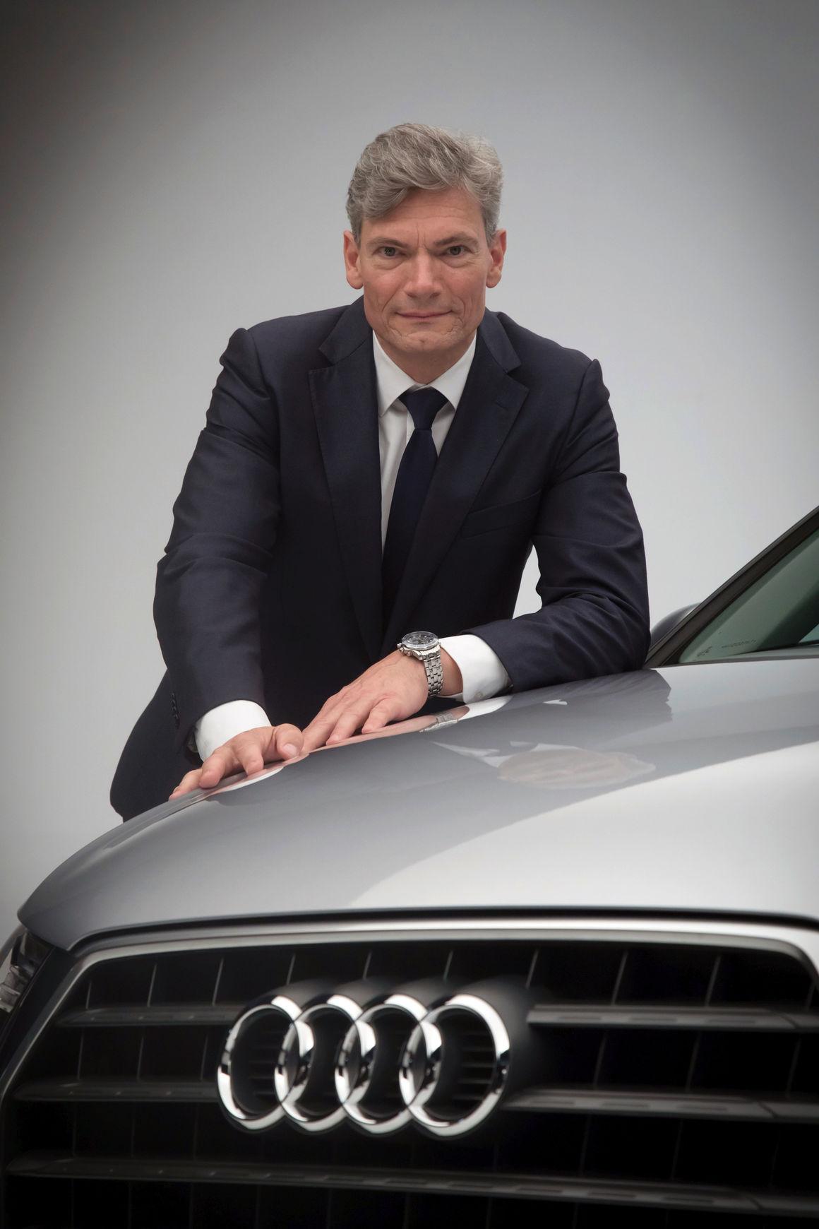 Johannes Roscheck is the new president of Audi do Brasil