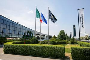 Headquarters of Lamborghini