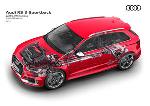 New engine and an even sharper look Update for the Audi RS 3