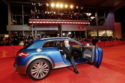 Audi highlights new content at the Berlinale