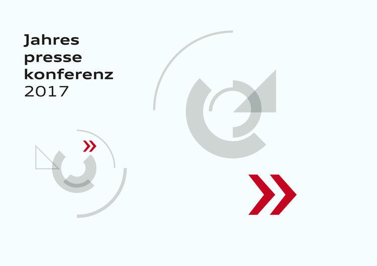 Audi-Jahrespressekonferenz 2017