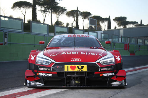 DTM-Test Vallelunga