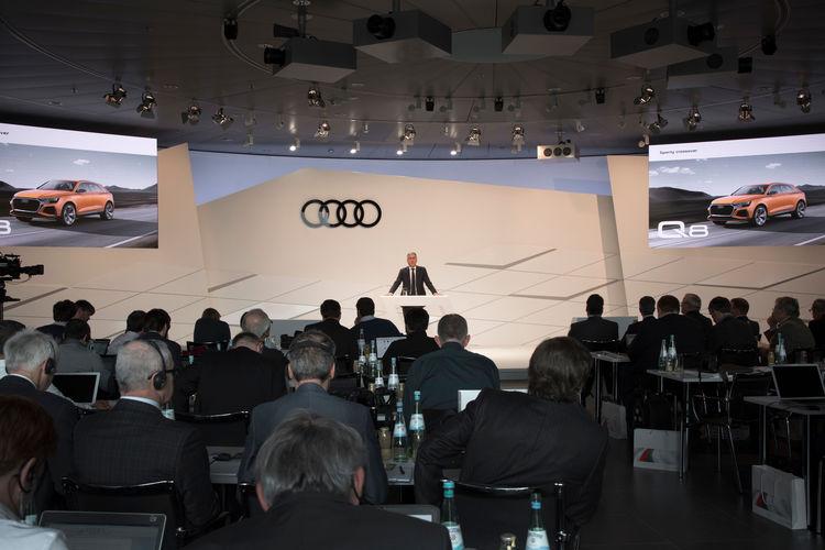 Jahrespressekonferenz der AUDI AG 2017
