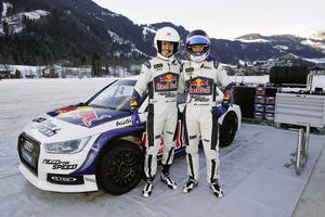 Audi-Pilot Ekström führt Neureuther aufs Glatteis