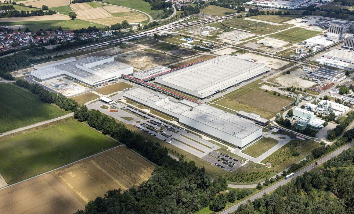 Audi production site of Münchsmünster