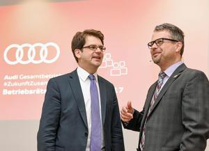 Audi Betriebsrat forciert gute Arbeit im digitalen Zeitalter