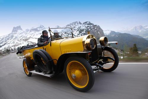 "Annual Program Audi Typ C ""Alpensieger"""
