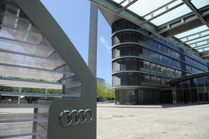Audi in Ingolstadt