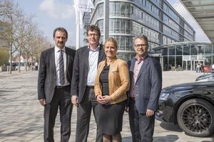 Verena Bentele auf Inklusions-Tour bei Audi