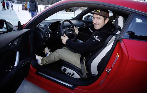Marcel Hirscher bei der Audi driving experience