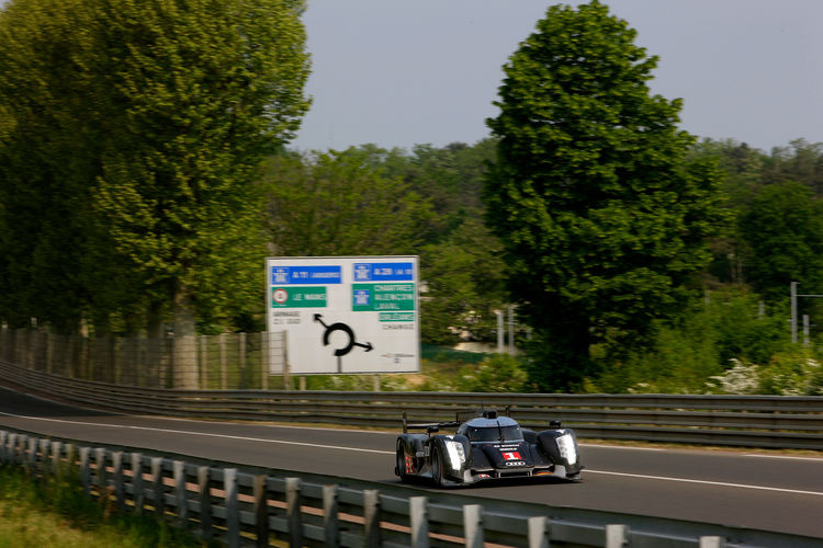 Pre Test Le Mans 2011