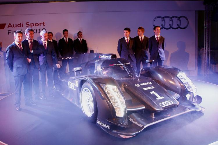 Präsentation Audi R18 2011