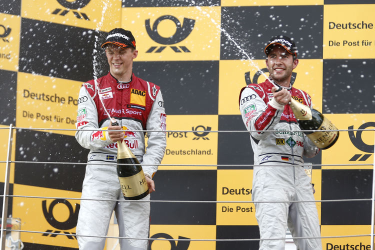 Audi takes both top spots on grid at Russian premiere