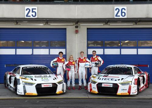 Audi Sport racing academy – promoting talent