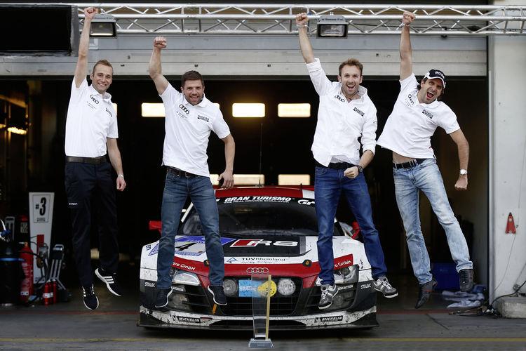 Fakten zum Sieg von Audi bei den 24 Stunden auf dem Nürburgring