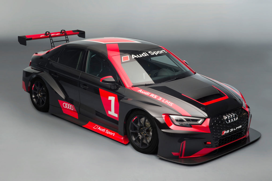 Audi in der TCR: Audi RS 3 LMS für den Einstieg in den Motorsport