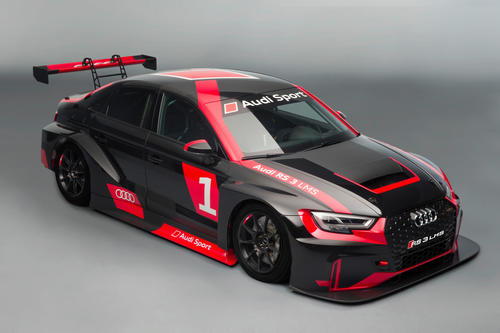 Audi in the TCR: Audi RS 3 LMS for entry-level