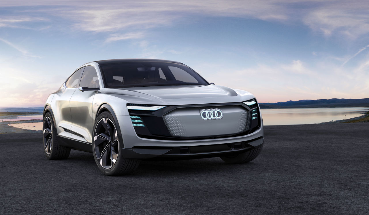 The Architecture Of E Mobility Audi E Tron Sportback Concept Audi Mediacenter