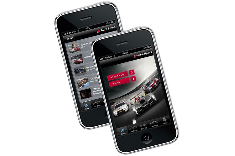 Audi Sport iPhone App