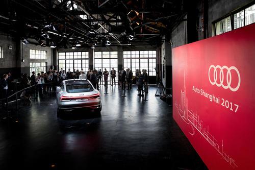 Audi e-tron Sportback concept world premiere Auto Shanghai 2017