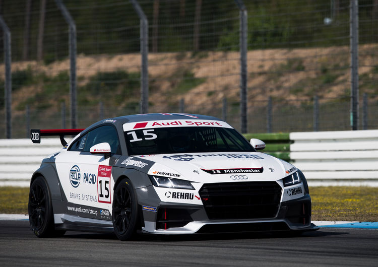 Audi Sport TT Cup 2017 Einführungslehrgang