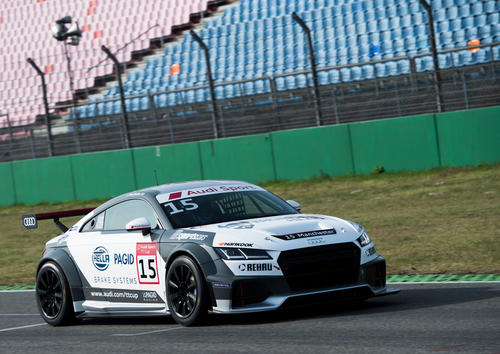 Audi Sport TT Cup 2017 season introductory course