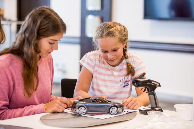 Girl Power bei Audi in Neckarsulm