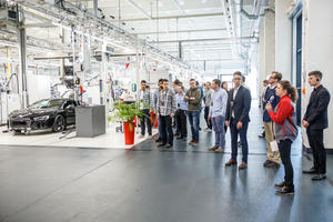 """""""Tag der Logistik"""": Studenten auf Erkundungstour bei Audi"""