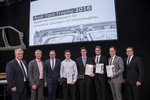 Audi Tool Trophy: Prize for talented young engineers