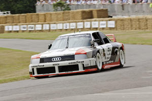 Three major anniversaries for Audi at Goodwood