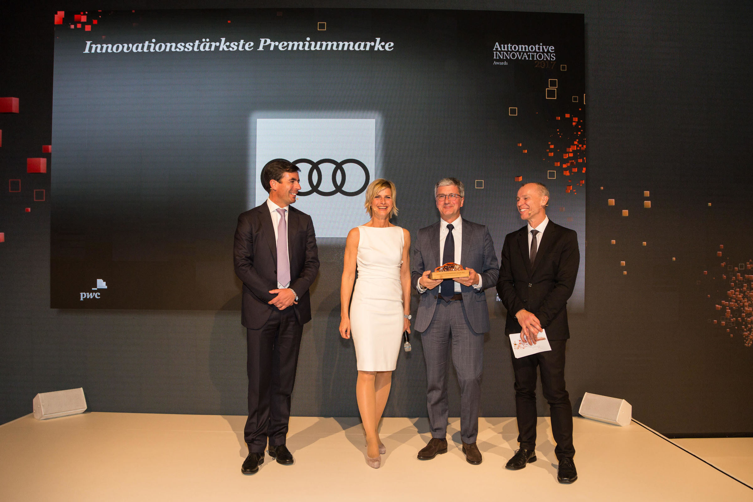Audi the most innovative brand in the Automotive Innovations Award