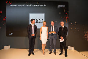 Audi innovationsstärkste Marke beim  Automotive Innovations Award 2017
